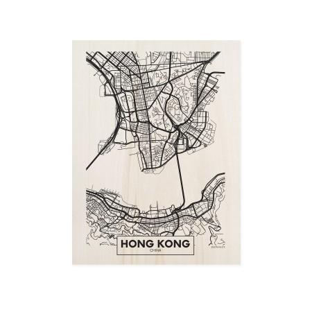 Boîte en bois Hong Kong