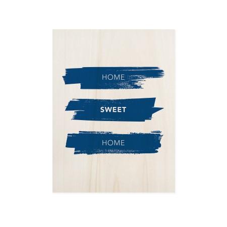 Boîte en bois Home Sweet Home