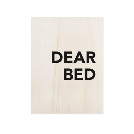 Boîte en bois Dear Bed