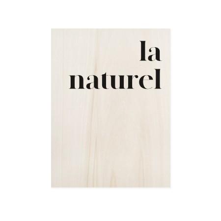 Boîte en bois La naturele