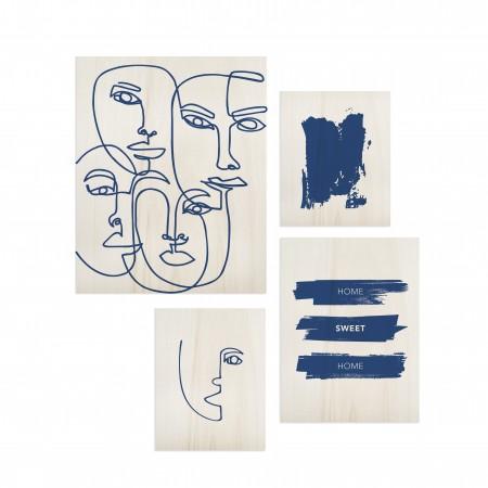 Pack de tableaux Classic Blue