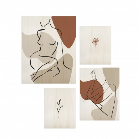 Pack de tableaux One Line