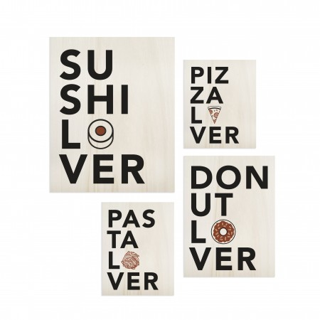 Pack de tableaux Food Lover