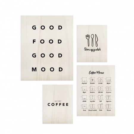 Pack de tableaux Food