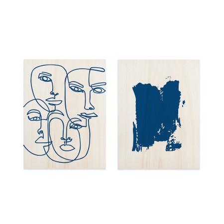 Pack de tableaux Blue