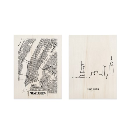 Pack de tableaux New York