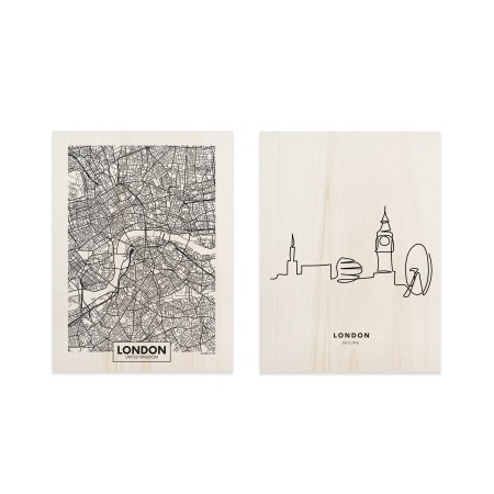 Pack de tableaux London