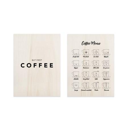 Pack de tableaux Coffe