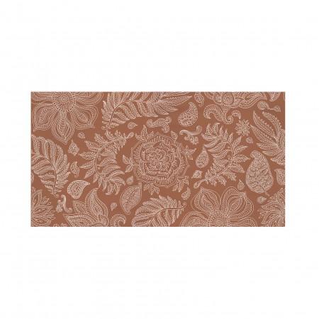 Tête de lit décapée Rose terracotta
