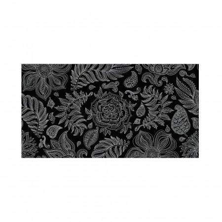 Tête de lit décapée Rose noir