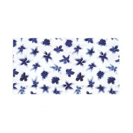 Tête de lit décapée Painted Flower