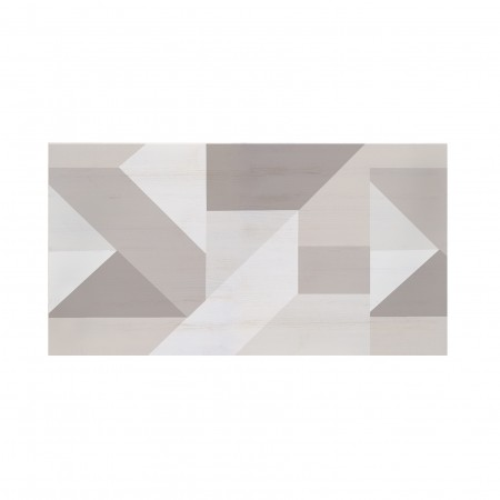 Tête de lit décapée Modern Geometric