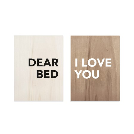 Pack de tableaux Dear Bed