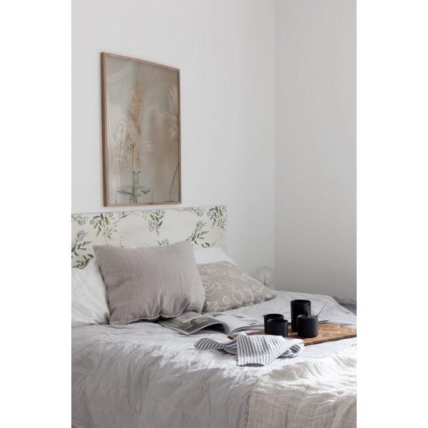 Tête de lit décapée Lavande