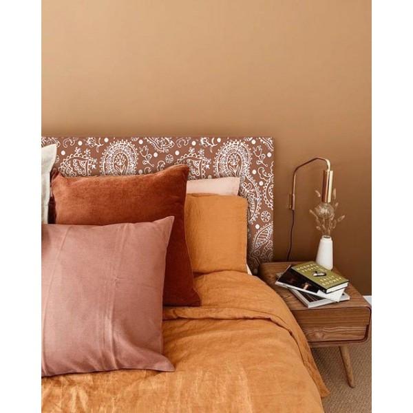 Tête de lit décapée Pasley terracotta