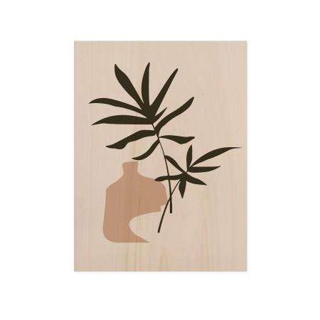 Boîte en bois Palm Draw