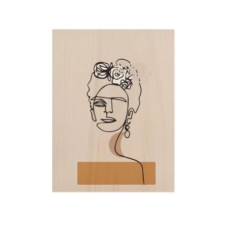 Boîte en bois Frida's Portrait