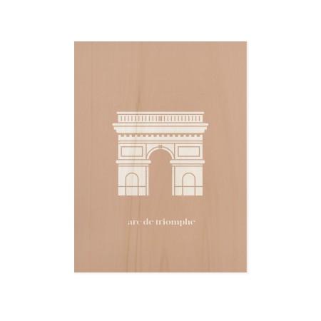 Boîte en bois Arc Triomphe