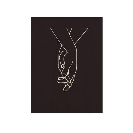 Boîte en bois Black Hands