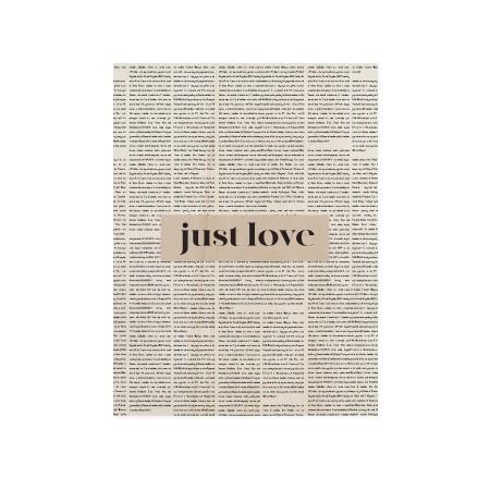Boîte en bois Just Love
