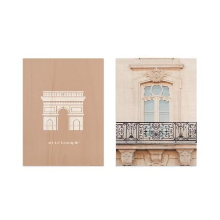 Pack de tableaux  Arc Triomphe