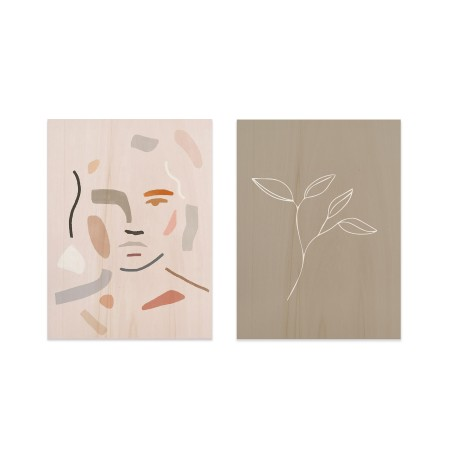 Pack de tableaux Abstract Portrait