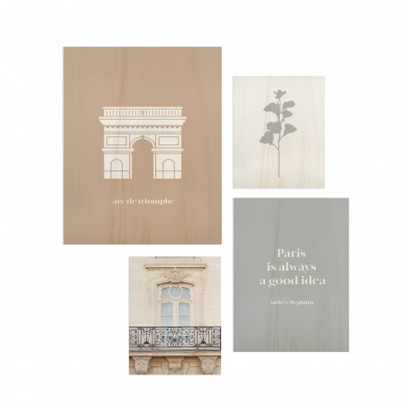 Pack de tableaux Paris Good idea