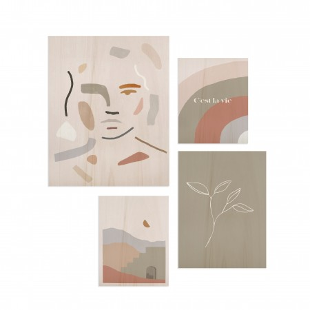 Pack de tableaux Abstract