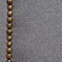 Cabecero tapizado Nils de poliéster gris